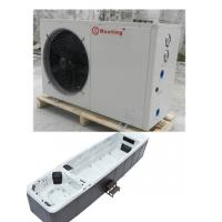 Buy cheap Water And Electricity Separated Air To Water Heat Pump Combined With Underground Bathtub Massage Swimming Pool from wholesalers
