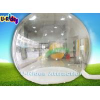 Buy cheap PVC Transparent Inflatable Balloon Clear Dome Tent  With Backdrop Printing from wholesalers