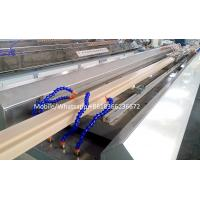 Buy cheap wpc door frame extrusion line WPC solid door frame extrusion line from wholesalers