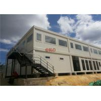 Buy cheap Mineral Wool Panel Mobile Office Containers 20ft Or 40ft With Conference Meeting Room from wholesalers