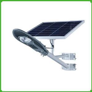 China 10W 20W 25W 30W 40W 50W Outdoor Ip65 Solar Power  Led portable solar street light on sale