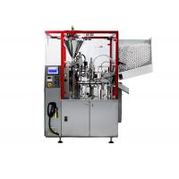 Buy cheap 60 Pieces / Min Toothpaste Tube Filler , Ointment Plastic Tube Filling Machine Stable from wholesalers