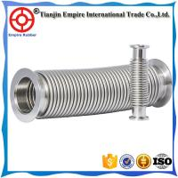 Buy cheap Big diameter 304 or 316 stainless steel corrugated pipe hose flexible Metal bellows from wholesalers