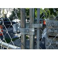 Buy cheap Portable 6ft X 12ft Temporary Chain Link Fence Diameter 2.5mm / 2.7mm from wholesalers