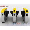 Buy cheap Fingerprint Retractable Flap Wing Barrier Pedestrian Control Flap Barrier Speed Gate from wholesalers
