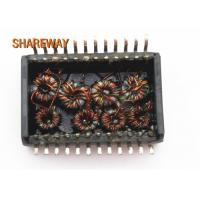 Buy cheap 350uH OCL Small Electrical Transformer 18.8x13.7x8.7mm 10/100 Base -T G2488CE product