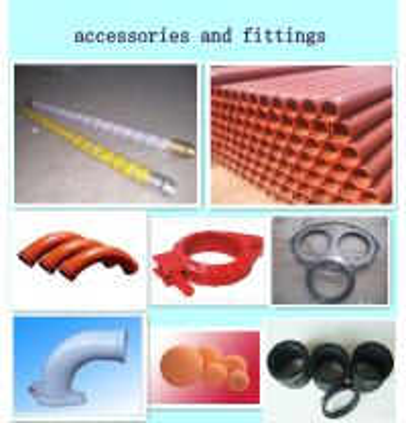 Concrete Pipeline Accessories : Customized st concrete pump pipe seamless steel