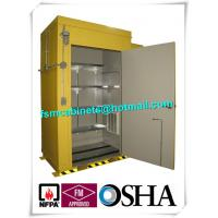 Buy cheap Hazardous Waste Storage Buildings Chemical Locker For Gas Cylinder / Oil Drum from wholesalers