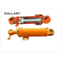Flange Hydraulic Cylinder for Engineering Machine , Double Acting Hydraulic Cylinder
