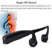 Buy cheap Wireless  Gym Waterproof bone conduction microphone bluetooth Headset for Sport product