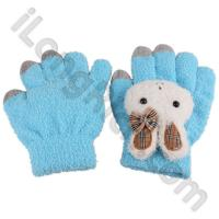 Buy cheap Touch Gloves For iPhone/iPad/Other Touch Screen Mobilephone-Rabit Blue from wholesalers