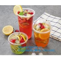 Buy cheap 7Oz/200ml white Disposable Ice Tea Plastic Cups For Any Occasion, BPA-Free , Juice, Soda, and Coffee Glasses for Party, from wholesalers