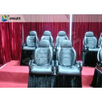 Buy cheap Red Color Electronic System 5D Cinema Equipment Motion Seat With Special Effect product