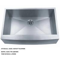Buy cheap Stainless Steel Kitchen Sink And Portable Sink With One Bowl for luxury kitchen from wholesalers