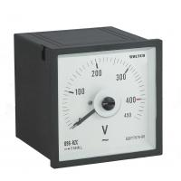 Buy cheap Light Weigh Analog Panel Voltmeter , Squre Analog Current Meter Reasonable Structure from wholesalers