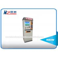 Buy cheap Touch Screen Information Self Service Kiosk With Barcode Scanner / Receipt Printer from wholesalers