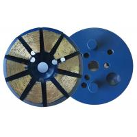Buy cheap 3 Inch 10 Diamond 8mm(H)Segments Metal Bond Diamond Grinding Discs for Concrete Polishing from wholesalers