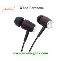 Buy cheap Ebony Wood Earphone for Iphone from wholesalers