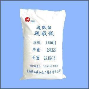 Buy cheap 1250 Mesh Barite (Super fine Barium Sulfate) product