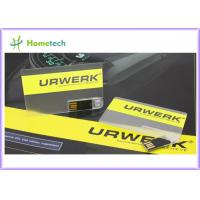 Buy cheap Credit Card USB Flash Drive , Business Card USB Flash Memory , USB Credit Card Storage Device from wholesalers