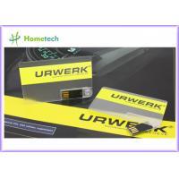 Buy cheap Credit Card USB Flash Drive , Business Card USB Flash Memory , USB Credit Card from wholesalers