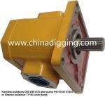 Buy cheap Komatsu/Shantui bulldozer gear pump P/N:07441-67503 work pum from wholesalers