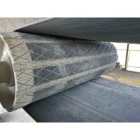 Buy cheap Prevent conveyor belt from slipping head pulley rubber removable slide lagging from wholesalers