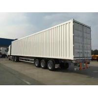 Buy cheap 3 axle 13M Box Semi Trailer , Strong Corrugated Box Van Type Trailer , 50 Tons CIMC Dry Van Trailer from wholesalers