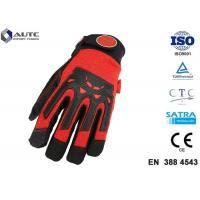 Buy cheap Nitrile Mens Safety Hand Gloves Comfortable Fit Dexterous Durable Impact Protection product