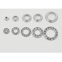 Buy cheap Round Metal Eyelet Rings With Rhinestone , Copper Grommets Eyelets Elegant from wholesalers