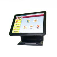 Buy cheap Pure Flat All In One POS Terminal Tablet Cash Register System Fast Heat Dissipation from wholesalers