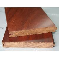 Buy cheap Solid  Customed Glossy Wood Flooring , hand scraped wood floors from wholesalers
