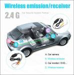 Reverse camera Wireless car camera 2.4G wireless mini butterfly camera 15mm