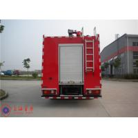 Buy cheap Rotatable Cab Foam Fire Truck Red Printed Inline Eight - Cylinder Engine from wholesalers