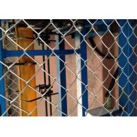 Buy cheap Hot Dipped Chain Link Panels Farm Fence , Electro Galvanized Backyard Diamond Mesh from wholesalers