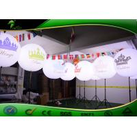 Buy cheap Oxford Cloth Inflatable Lighting Decoration Stand LED Light Balloon For Display from wholesalers