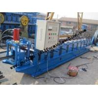 Buy cheap 15Kw Carbon Steel C Purlin Roll Forming Machine , Full Automatic C Z Purlin Production Line from wholesalers