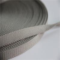 Buy cheap Tear Resistant Braided Webbing , Lightweight Polyester Webbing High Tensile from wholesalers