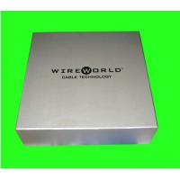 Buy cheap Silver Foil Stamping Printed Cardboard Box Packaging OEM Design from wholesalers