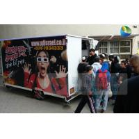 Buy cheap Mobile 7D Trailer Movie Theater 6 People Box Customize 7D Motion Cinema product