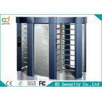 Buy cheap Inter Lock IC Card Full Height Turnstile Cross Controlled Access Turnstiles from wholesalers
