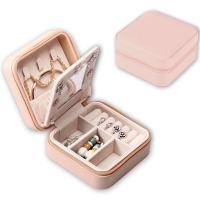 Buy cheap High quality PU Leather Jewelry gift box for girl with size10x10x5cm from wholesalers