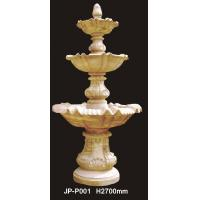 Buy cheap Factory sale durable large three tiers water fountain for garden from wholesalers