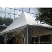 Hard pressed aluminum alloy frame outdoor high peak tents for Roof peak decorations