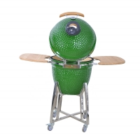 Buy cheap Ceramic 15 Inch Cast Iron Kamado Cooker from wholesalers