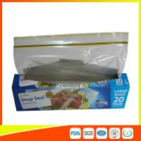 Buy cheap Snap Seal Reusable Sandwich Bags For Coles Supermarket Large Size 35*27cm from wholesalers