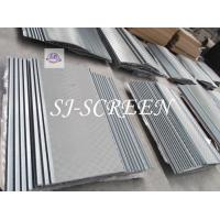 Buy cheap Size 1140 X 1210mm Mi Swaco Shaker Screens API 20 - API 325 Mesh Range product