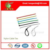 Buy cheap 4.8X450mm Coaxial Cable Clamp Self Locking Nylon 66 Cable Zip Ties x250 from wholesalers