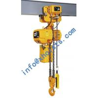 Buy cheap Monorail hoist 0.5Ton-10Ton (With Electric Trolley) from wholesalers