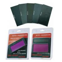 Buy cheap High Reliability Welding Helmet Filter Various Sizes Optional CE Approval product